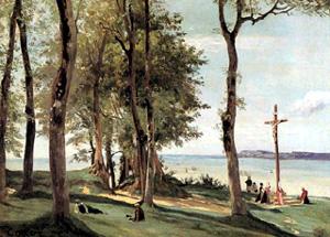 Huile sur bois 29.8 x 41 cm