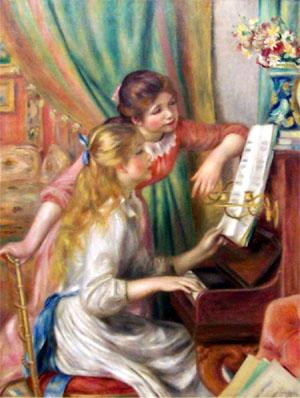 Jovenes al piano